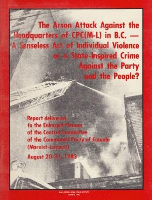 1983.08.21.ReporttoEnlargedPlenumCCCPCML-cover
