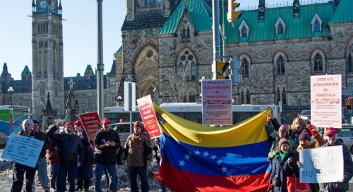 Demonstration in Ottawa on March 11