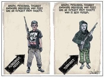 Who is terrorist.cartoon