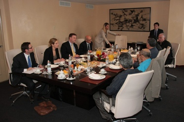 "Canadian Foreign Affairs Minister John Baird hosts a lavish lunch for selected ""dissidents"" in Cuba, whom DFAIT called ""Members of Civil Society."" Suspiciously, none of the ""dissidents"" are identified in the photo caption on the DFAIT website."