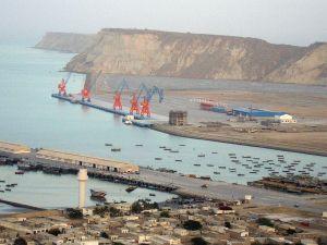 Gwadar Port is strategically located on the Arabian Sea coast of Baluchistan