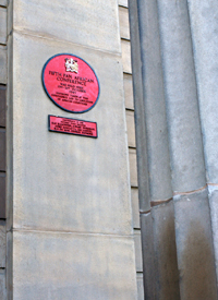 """Red Plaque: site of the Fifth Pan African Congress, Manchester, 1945 Grosvenor Park, the former Chorlton-on-Medlock Town Hall and the site of the fifth Pan African Congress in 1945. There were ninety delegates, twenty six from all over Africa. These included Peter Abrahams for the ANC, and a number of men who were to become political leaders in their countries, such as Hastings Banda, Nkrumah, Obafemi Awolowo and Kenyatta. There was also Marcus Garvey's wife and Trinidadian radical George Padmore. There were thirty three delegates from the West Indies and thirty five from various British organisations including the West African Students Union. W.E.B. DuBois, the man who had organised the first Pan African Congress back in 1919, was there too at the age of 77. Despite the turnout, this conference scarcely got a mention in British press. There were many resolutions passed, including one calling for racial discrimination to be made a criminal offence. The main resolution decried imperialism and capitalism: """"We are unwilling to starve any longer while doing the world's drudgery, in order to support, by our poverty and ignorance, a false aristocracy and a discredited imperialism. We condemn the monopoly of capital and the rule of private wealth and industry for private profit aloneÉ We shall complain, appeal and arraign. We will make the world listen to the facts of our condition. We will fight in every way we can for freedom, democracy and social betterment."""" (2273)Ê"""