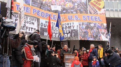 """The People vs U.S. Steel,"" Hamilton Day of Action, January 29, 2011"
