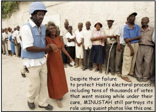 Haiti.MINUSTAH voiting