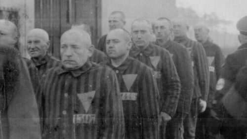 Prisoners in the Sachsenhausen concentration camp, Germany | Heinrich Hoffman collection