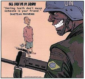 UN-HAITI.smiling cartoon