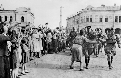 The Liberation of Poznan by the Soviet Union