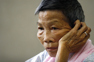 Romen Bose Tham, an eyewitness to the atrocity | Getty Images