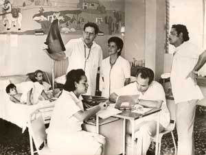 Cuban medical personnel lived very tense days during the epidemic of hemorrhagic dengue in 1981,which broke out across the country | Juventud Rebelde FILE photo