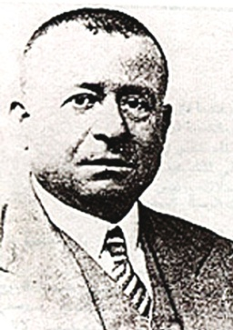 Is'af Nashashibi (1882-1948). His unique book collection frequented by many visiting scholars was looted by Jewish forces in the course of the 1948 Nakba.