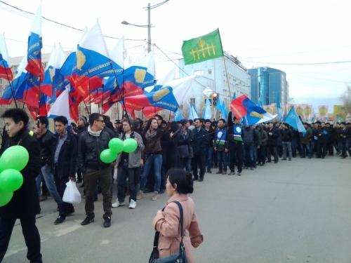Statehood Day celebrations in Yakutsk