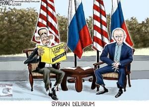 Obama-Putin.Syrian condominium