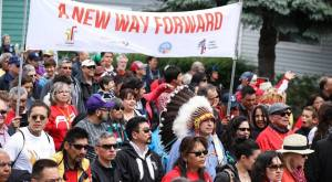 Walk for reconciliation, Ottawa, May 31, 2015.