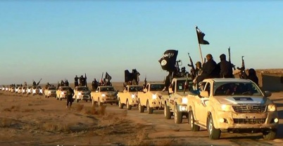 ISIS_CIA_Convoy Toyota Hilux trucks