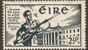 1941 stamp commemorating Easter Rebellion