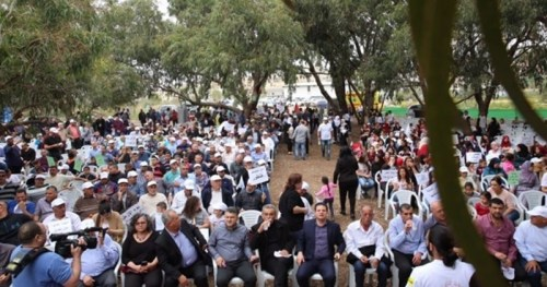 Meeting March 26, 2016 in Galilee marks 40th anniversary of Land Day.