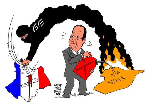 Latuff.ISIS-Syria-France cartoon