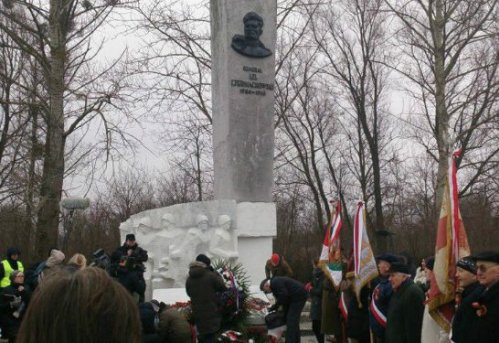 Chernykhovsky monument to those who died liberating Poland.