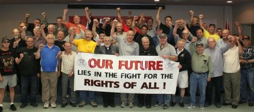 In June 2013 Local 1005 USW celebrated 10 years of Thursday meetings where workers  develop their independent politics.