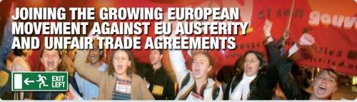 Anti EU movemnt v austerity