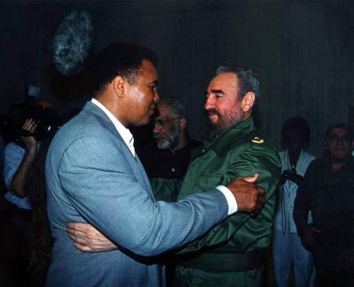 Muhammad Ali with Fidel Castro