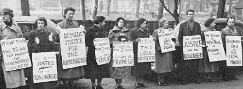 ProtestRosenburgsDeathSentenceCr