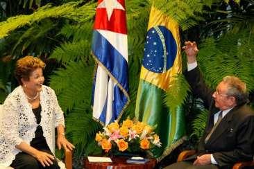Havana - Cuba, 27/01/2014. Presidenta Dilma Rousseff durante reunião bilateral com o Presidente de Cuba, Raúl Castro. Foto: Roberto Stuckert Filho/PR