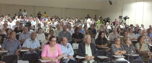 Session of 13th Forum of Organizations of Cuban Civil Society, October 12, 2016. (Click to enlarge)