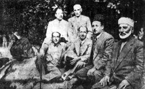 Syrian nationalists, 1919
