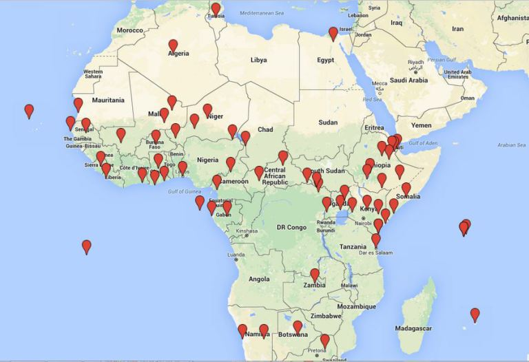 New Scramble For Africa Foreign Military Bases In Africa Tony - Map-of-all-army-bases-in-the-us