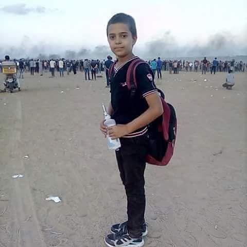 2018.09.28.Naser Musabeh gaza11-yr killed