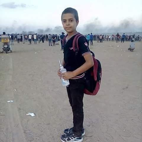 2018.09.28.Naser Musabeh gaza11-yr killed
