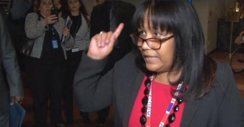 2018.10.16.Permanent Representative of Cuba to UN, Anayansi Rodríguez Camej