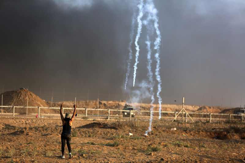Gaza.Mohammed Zaanoun.ActiveStills