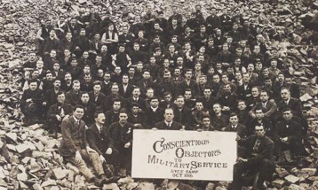 1916Scotland-AberdeenConscientiousObjectorsCampCr