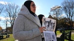 2017.11.18.HISF.Masuma Khan talks about her experience as an Afghan-Canadian woman.TARYN GRANT-Signal