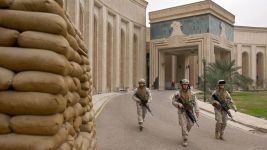 US embassy Iraq.marines