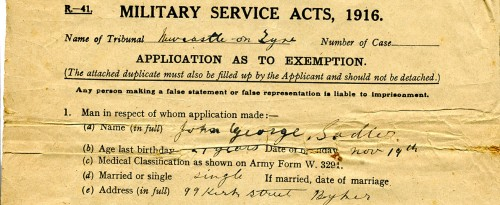WWI-Britain-MilitaryExemptionApplication