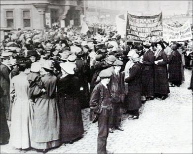 1915.Glasgow rent strike