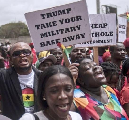 2018.03.28-GhanaAccra-DemandUSMilitaryDealwithGhanabeAnnulledCr