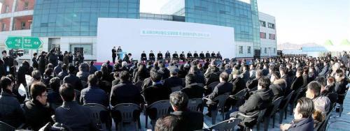 2018.12.26-DPRK-Kaesong-GroundBreakRail-RoadConnect-Xinhua-03