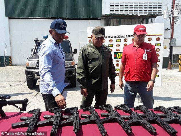 2019.02.05.Venezuela.Cache of US weapons