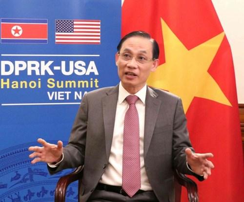 2019.02.21-VietnamPrepUS-DPRKSummitDeputy_FM_Le_Hoai_Trung-VNA