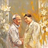 2019.02.24-VietnamHanoi-LeDucTungPaintingHoKim1957-VNS-02