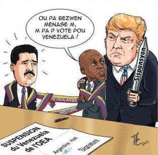 HaitiVenezuelaCartoon