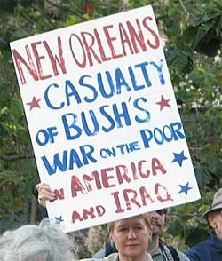 New Orleans.Casualty of Bush War