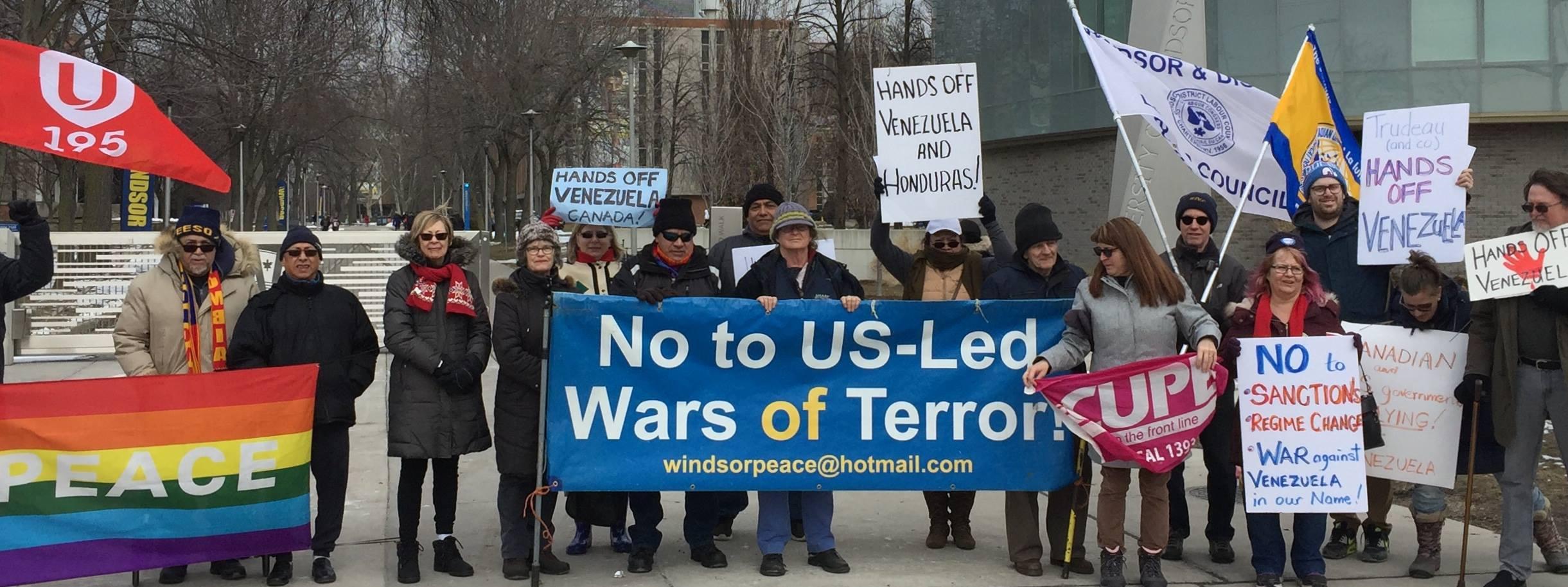Windsor Peace Coalition.Venezuela