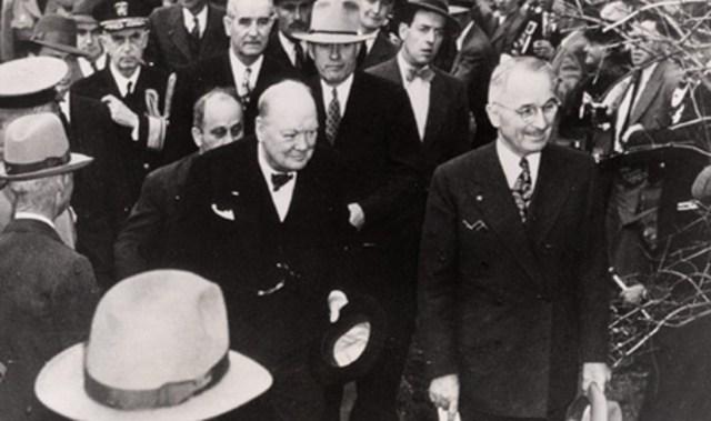 1946.03.05.USMOFulton-ChurchillTruman@WestminsterCollege
