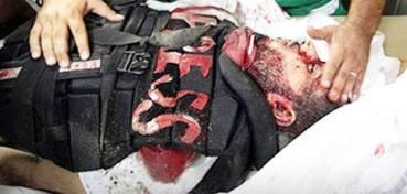 Palestinian journalist dead