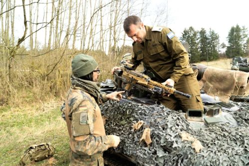 2019.04.Israeli soldiers take part in a NATO exercise in Germany.IDF Spokesperson.1